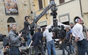Inferno: Ron Howard e il cast a Firenze