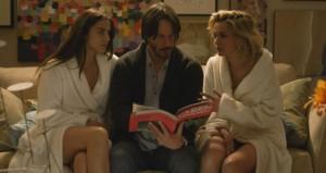 Keanu Reeves torturato da due sexy psicopatiche nel trailer di Knock Knock