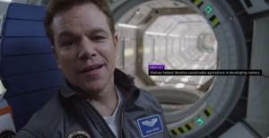 Sopravvissuto – The Martian: Matt Damon nel promo del film di Ridley Scott