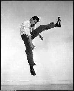 Jumpin' stars: i divi del cinema davanti all'obiettivo di Philippe Halsman
