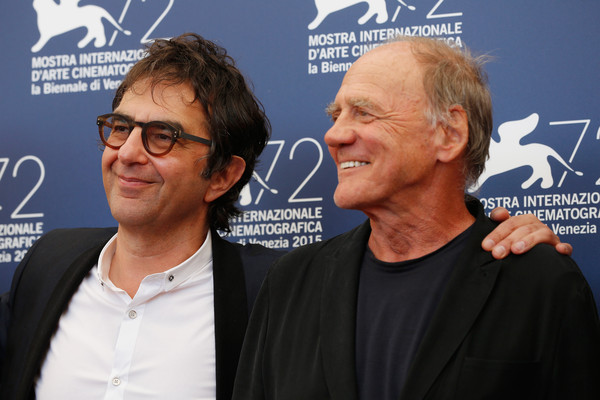 Atom Egoyan e Bruno Ganz per The Remember