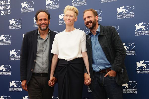 Luca Guadagnino,Tilda Swinton e Ralph Fiennes - A Bigger Splash