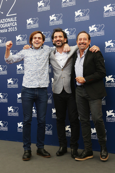 Peter Lanzani, Pablo Trapero and Guillermo Francella - El clan