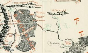 Ritrovata e messa in vendita mappa annotata da Tolkien