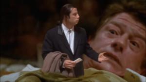 John Travolta Confused