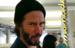 Keanu Reeves è arrivato a Roma