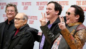 Quentin Tarantino a Roma per The Hateful Eight