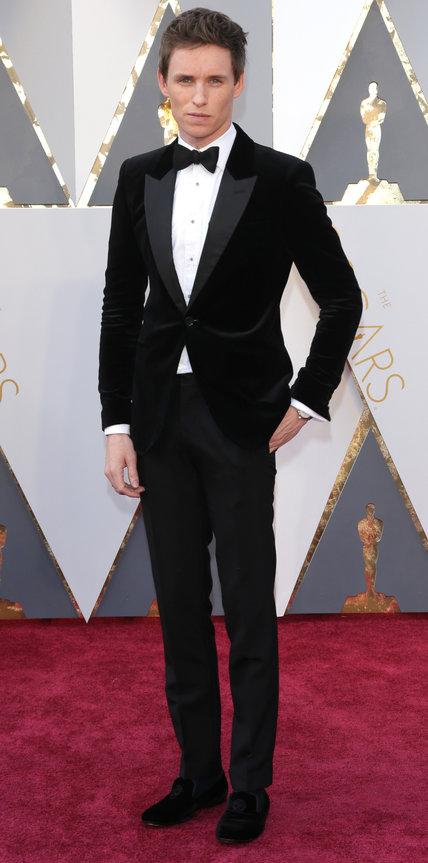 Eddie Redmayne - Alexander McQueen.