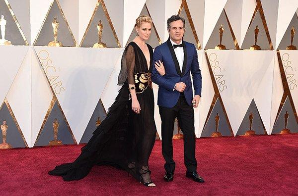 Mark Ruffalo e la moglie Sunrise Coigney