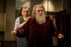 Ian McKellen e Anthony Hopkins nel trailer di The Dresser