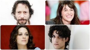 Mathieu Amalric, Marion Cotillard e Charlotte Gainsbourg per Arnaud Desplechin
