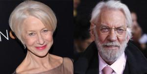 Helen Mirren e Donald Sutherland nel prossimo film di Paolo Virzì