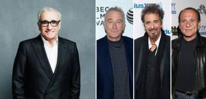 Martin Scorsese dirigerà Bob De Niro e Al Pacino in The Irishman