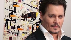 Johnny Depp vende i suoi preziosi Basquiat