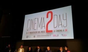 Cinema2Day: al via i mercoledì a due euro!
