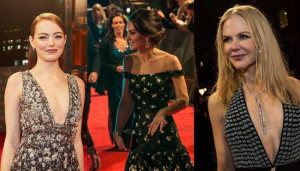 BAFTA 2017, il red carpet