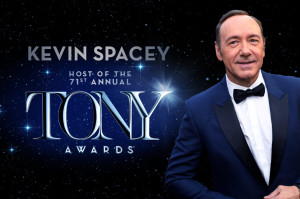 Tony Awards 2017, Kevin Spacey sarà il conduttore