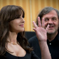 Emir Kusturica e Monica Bellucci a Roma per On The Milky Road