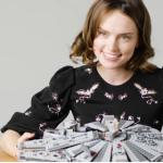Daisy Ridley LEGO Millennium Falcon