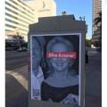 Artista di strada prende di mira Meryl Streep