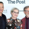 Steven Spielberg, Meryl Streep e Tom Hanks presentano The Post