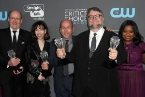 I Critics' Choice Awards  incoronano Del Toro e La forma dell'acqua
