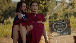 Destination Wedding, il trailer della commedia romantica con Keanu Reeves e Winona Ryder