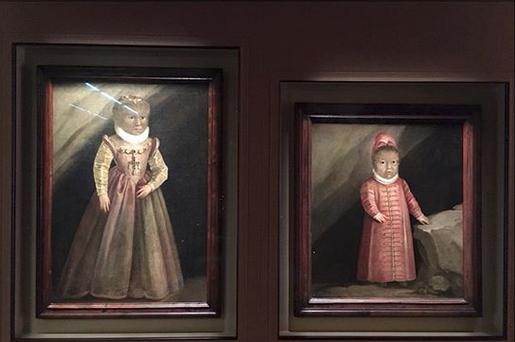 Ritratti figli Gonzalez